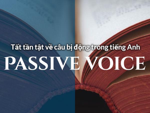 Câu bị động – Passive voice