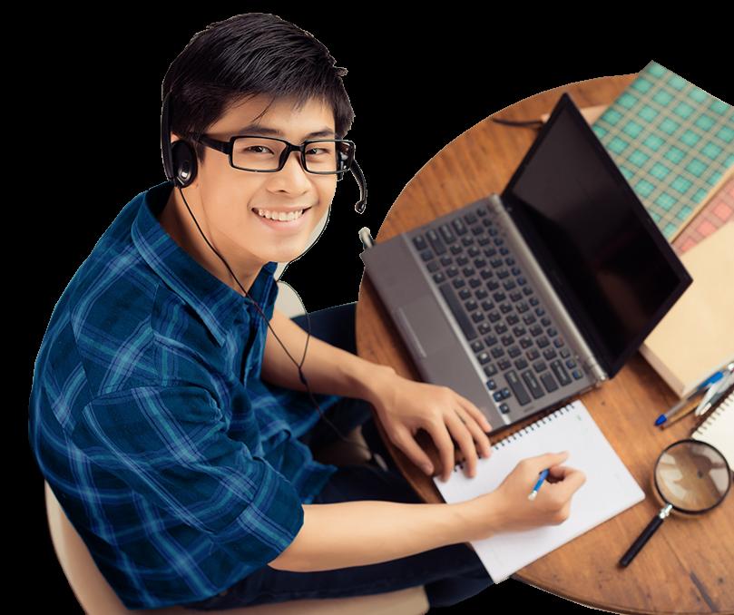 học sinh sinh viên học tiếng Anh online tại Direct English