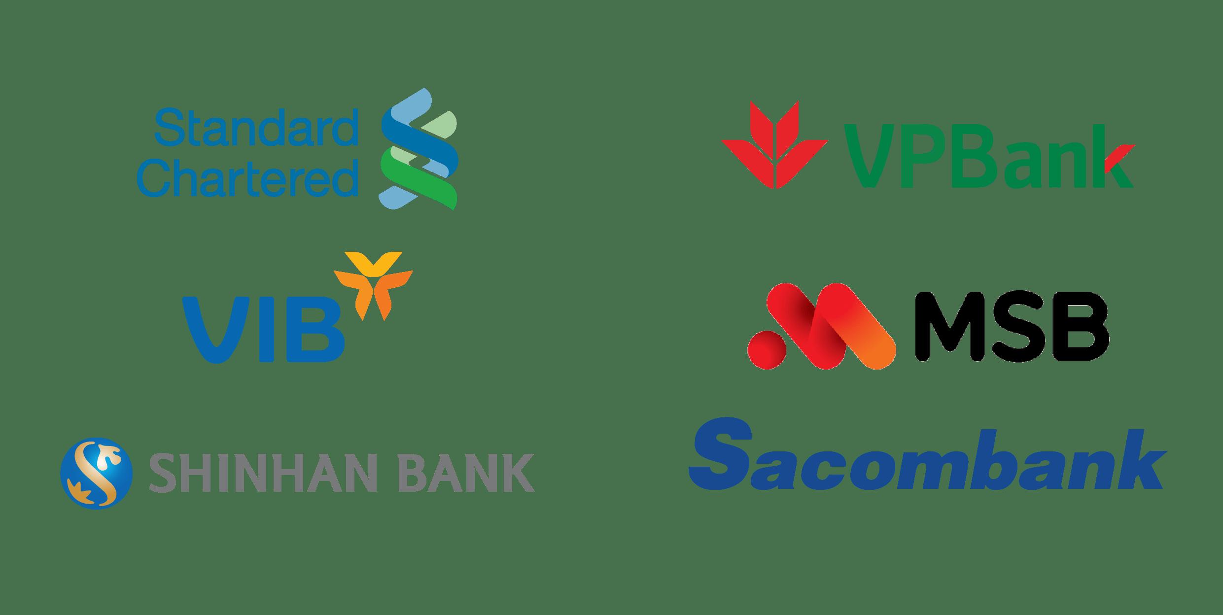 Logo ngân hàng trả góp