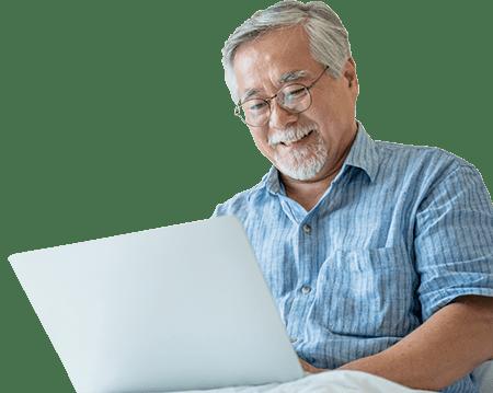 người lớn tuổi học tiếng Anh online tại direct enlgish