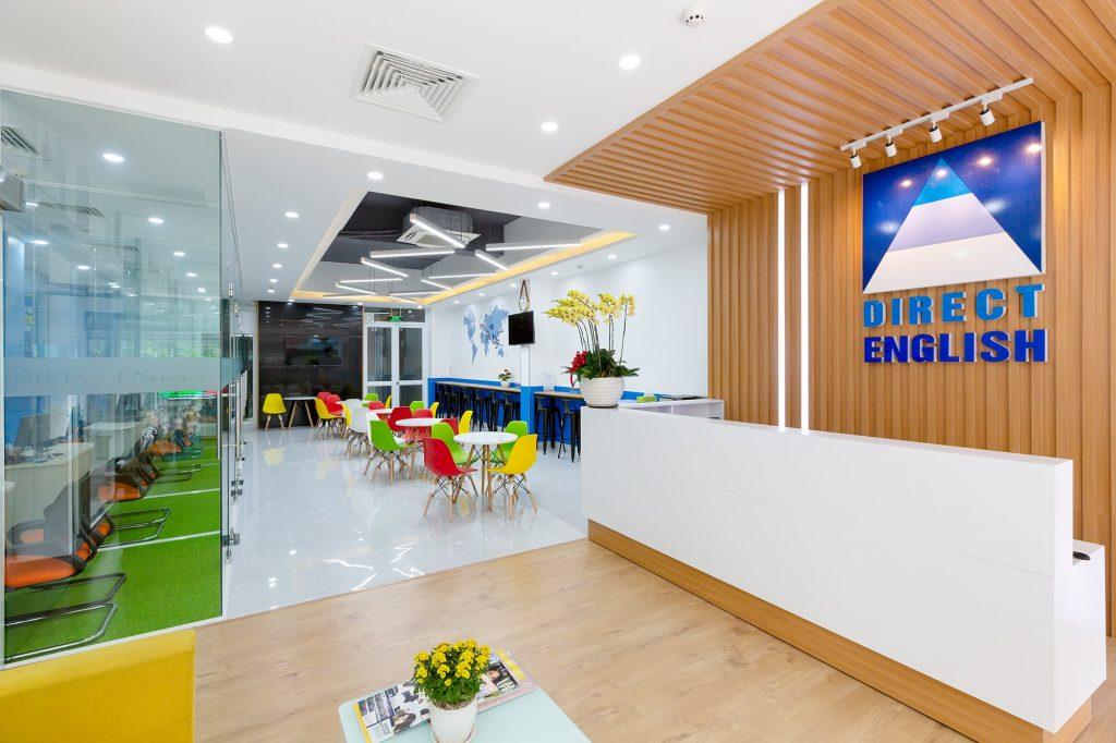 bg trung tâm tiếng Anh Direct English Saigon