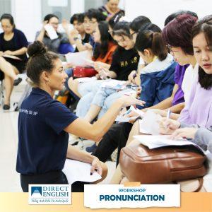 workshop event tại direct english